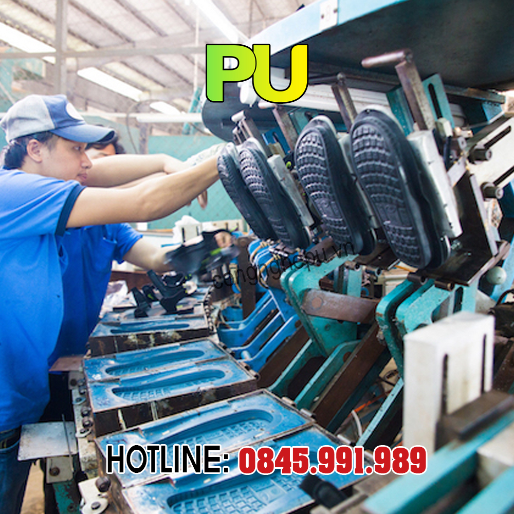 Máy sản xuất đế giày PU