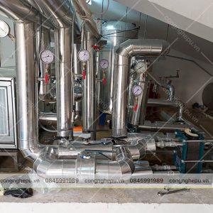 bọc cách nhiệt đường ống gas