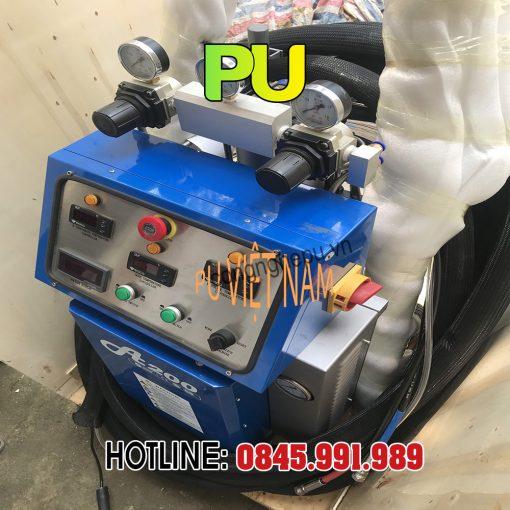 sửa chữa bảo trì máy phun foam xốp pu