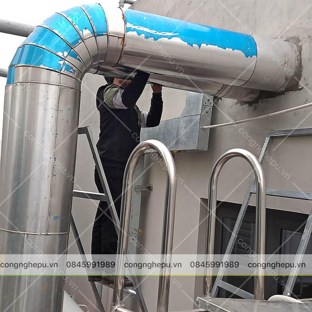 cách nhiệt đường ống foam pu