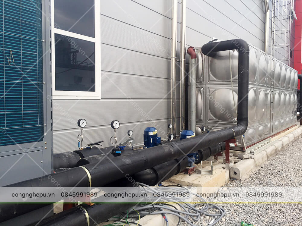 bọc bảo ôn cách nhiệt đường ống