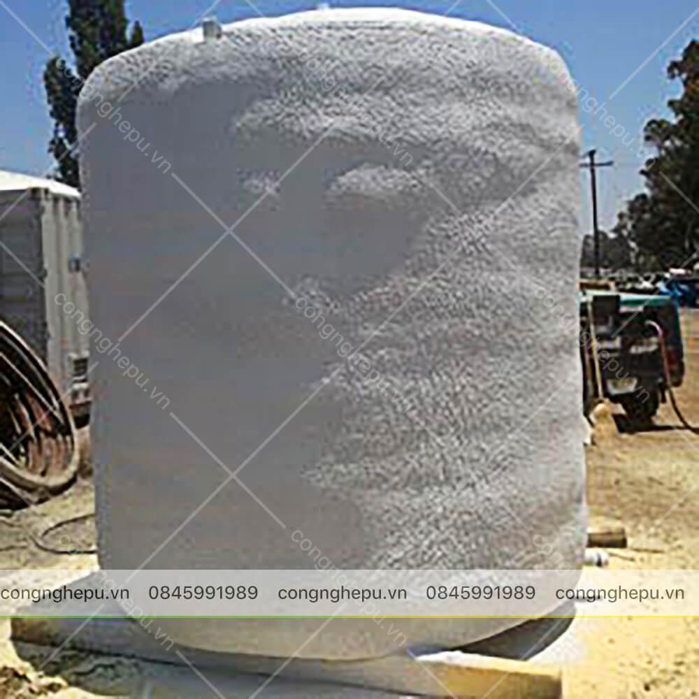 chống nóng cách nhiệt bồn nước inox