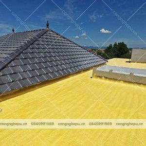 chống nóng trần mái bê tông