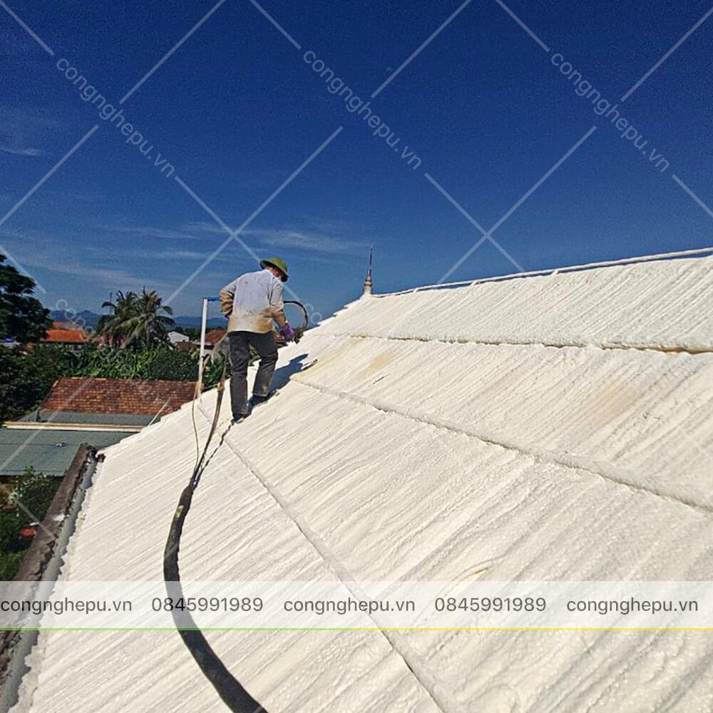 chống nóng mái nhà biệt thự