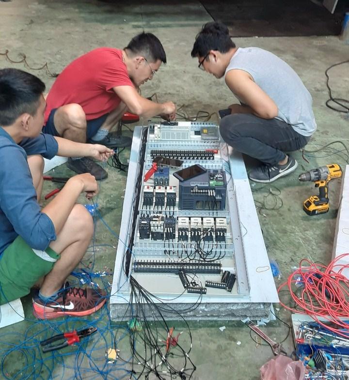 sửa chữa bảo trì máy phun foam xốp pu polyurethane